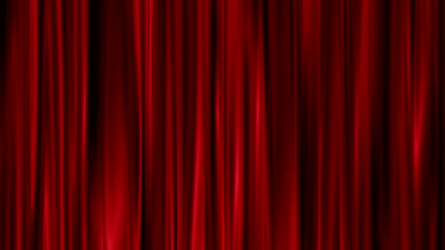 Red Curtains open video