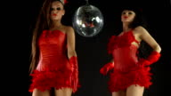 red disco glamour video