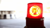 Red Flashing Emergency Lights video