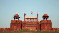 Red fort in Delhi video