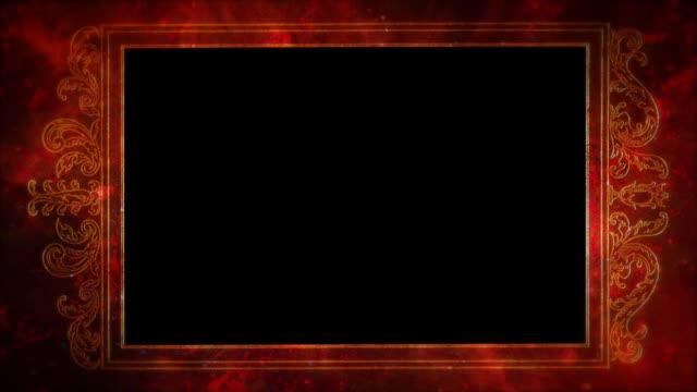 Red Frame + Matte v01 video