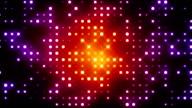 Red Glittering Light Grid video