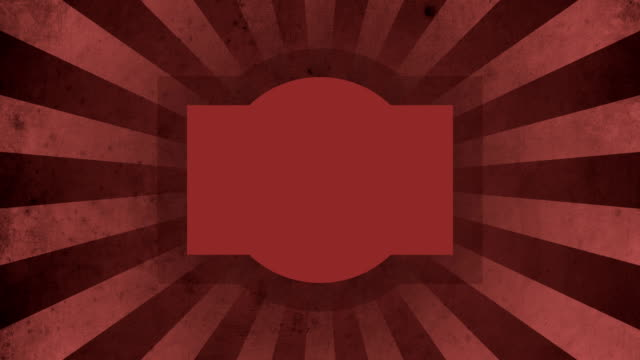 Red Label Vintage Loop Background 4K video