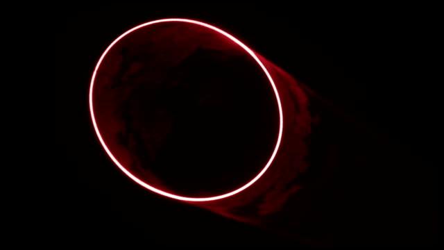 Red Laser Circle video