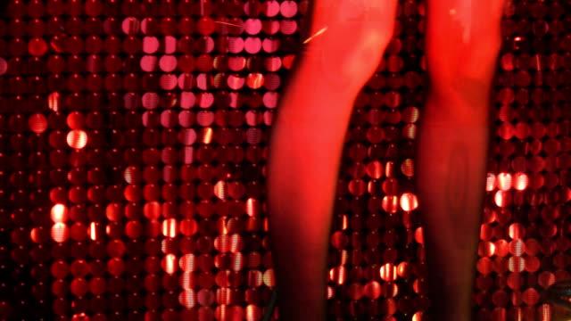 Red legs. video