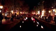 Red Light District in Amsterdam video