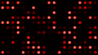 Red Monotone Coloured Dots Background video