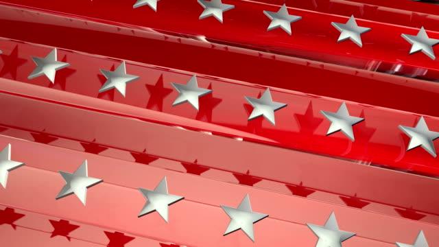 Red Patriotic Background video