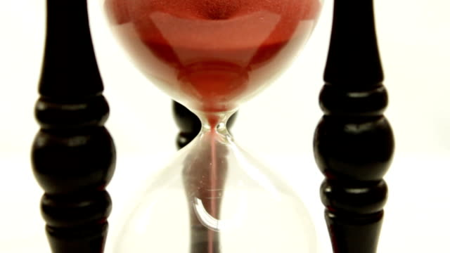 Red sand clock video