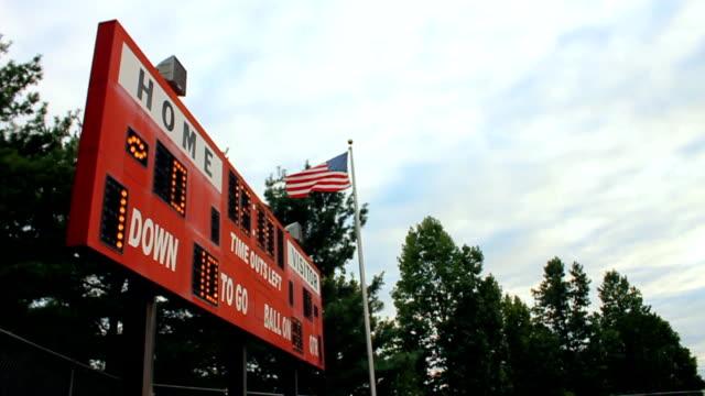 Red Scoreboard video