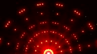 Red Shiny Lights Background Animation video
