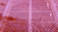 Red square abstract background, a real shot video video