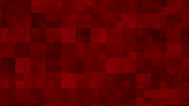 Red square background video
