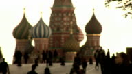 Red Square, Moscow, Russia, St Basil Cathedral video