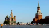Red square. Moscow video