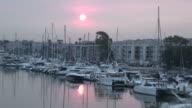 (HD1080i) Red Sun Water video