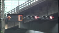 (HD1080) Red Traffic Light With Countdown Clock video
