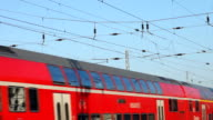Red Train in Germany video