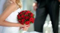 red wedding bouquet video