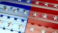 Red, White & Blue Patriotic Background video