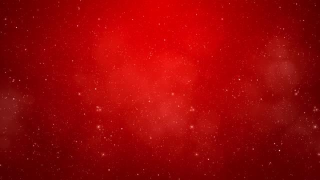 Red Winter Wonderland Background. video