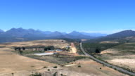 Redbush Tea Plantation  - Aerial View - Western Cape,  West Coast District Municipality,  Cederberg,  South Africa video