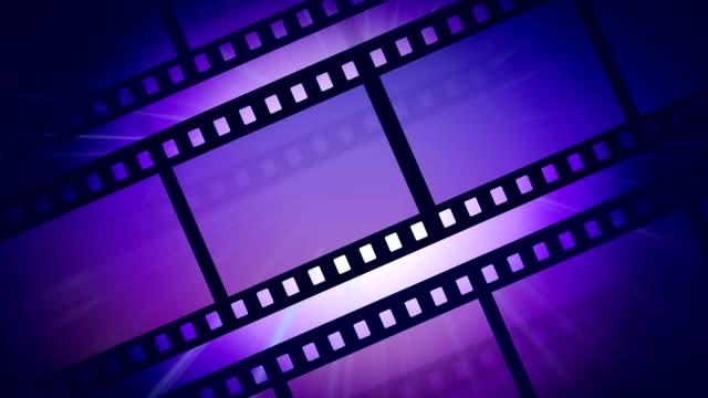 Reel of film video