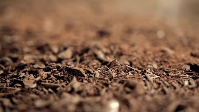 refocusing macro shot on Chocolate chips video