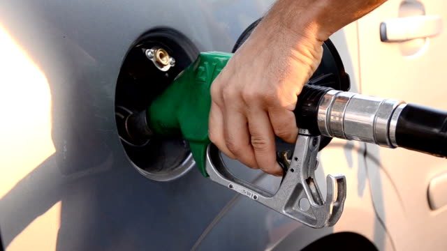 refueling a car, Gas Station Refueling video