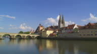 Regensburg Old Town video
