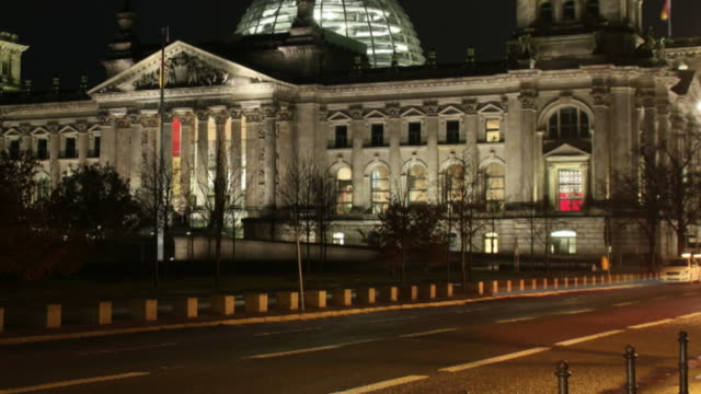 Reichstag,  German government't Building HD time lapse video video
