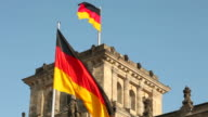 Reichstag With German Flags video