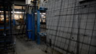Reinforcement and concrete slabs in the shop video