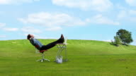 Relax Business Grass Hill video