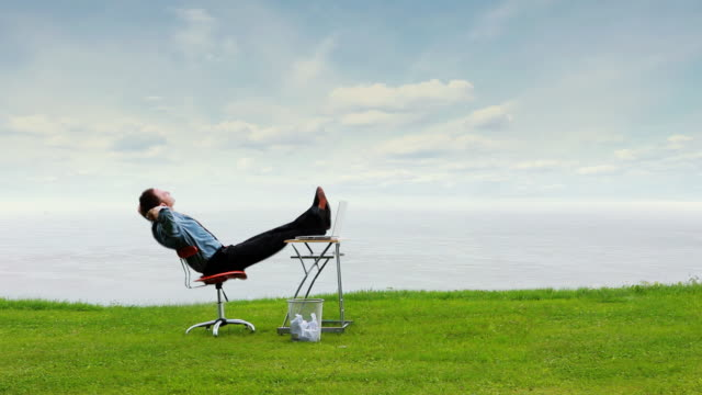 Relax Business Sky video