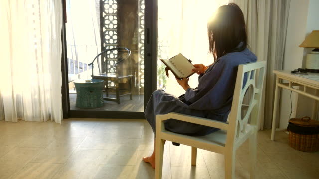 Relax with Reading a Book video
