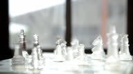 relaxation by playing glass chess video
