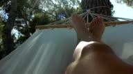 HD: Relaxing In Hammock video