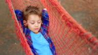 relaxing in hammock video