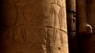 Reliefs from Hypostyle Hall Luxor Temple, Luxor Egypt video