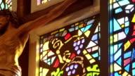 Religious Cross and Jesus video
