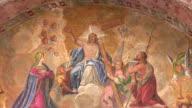 Religious fresco video