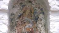 Religious Painting, Amorgos, Greece video