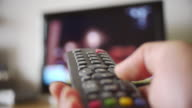 Remote control to transform television channels video