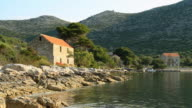 HD DOLLY: Remote Mediterranean Houses video
