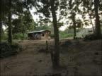 Remote village of Ghana. video