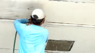 remove old bottom paint from boat hull video