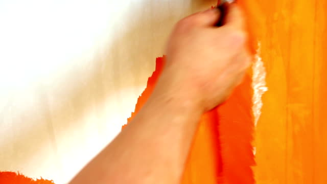 HD: Removing paint with putty knife video