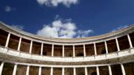 Renaissance palace of Carlos V, Alhambra, Granada, Spain video
