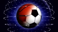 SPORTS BALLS Rendering Animation Background, Loop video